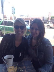 Melissa and I at Brooklyn Girl.