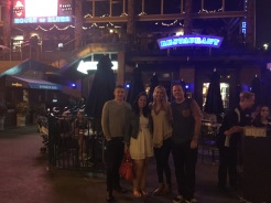 Chris, myself, Melissa and Paul.